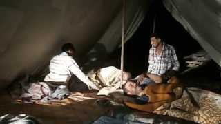 Suez Canal New: Video exclusive canal for workers camps during sleep