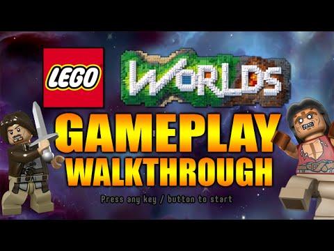 ☆Lego Worlds - NEW OPEN WORLD GAMEPLAY WALKTHROUGH MY FIRST ...