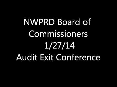 NWPRD Audit Exit Conference