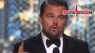 видео Ди Каприо Оскар 2016