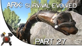 "Ark: Survival Evolved Gameplay - Part 27: ""Bronto Taming w/ Kibble!"" (Season 2)"