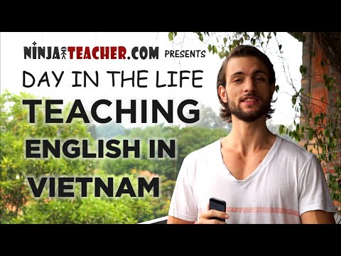 A Day In The Life Teaching English In Vietnam