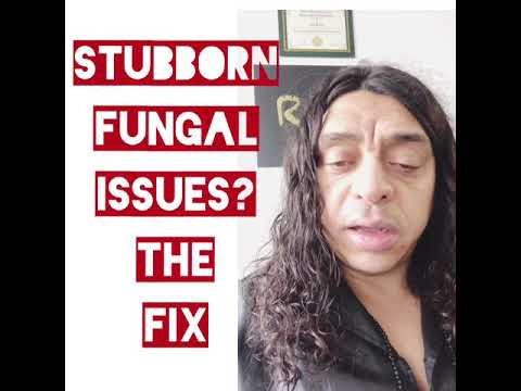Stubborn Fungal Issues? The Fix- Candida - detox and detoxification