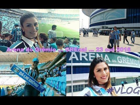 #VLOG: Viagem ... Conhecendo a Arena do Grêmio (GREnal 23 de out de 2016)