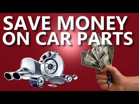 5 BEST Ways to Save Money on Car Parts