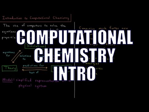 Computational Chemistry 0.1 - Introduction