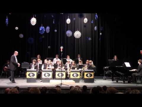 Pell City High School Jazz Band at the Christmas concert 12-4-2014