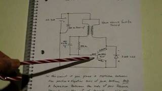 Flashing Joule Thief useing Capacitance to control frequency:  12-17-2010