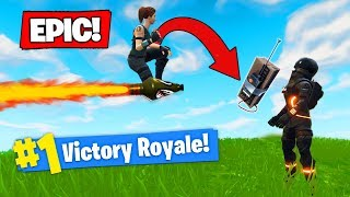 The C4 *AIRSTRIKE* STRATEGY In Fortnite Battle Royale!