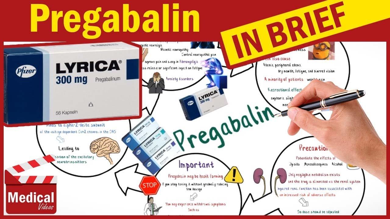 Pregabalin ( Lyrica ): What Is Lyrica Used For ? Pregabalin Mechanism Of  Action & Side Effects