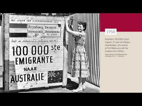 70 years of Australian post-war migration