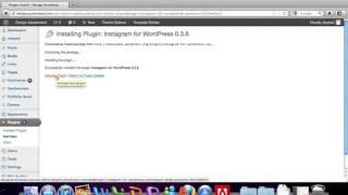 How to Add an Instagram Widget to your Wordpress Website