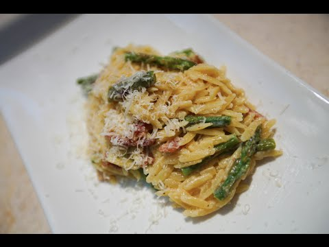 Best Orzo Carbonara Recipe By Sam The Cooking Guy From ...