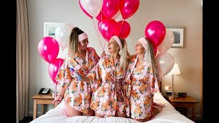HAVE A GIRLS NIGHT IN WITH US! Eating, pampering + chatting about life!