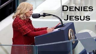 Trump's Spiritual Advisor Denies Jesus!