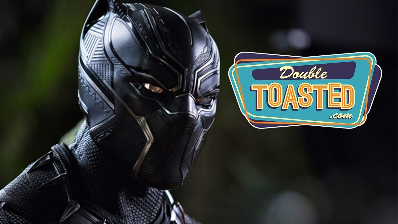 BLACK PANTHER OFFICIAL MOVIE TRAILER REACTION – Double Toasted