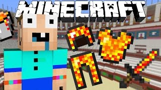 If Lava Tools Existed - Minecraft