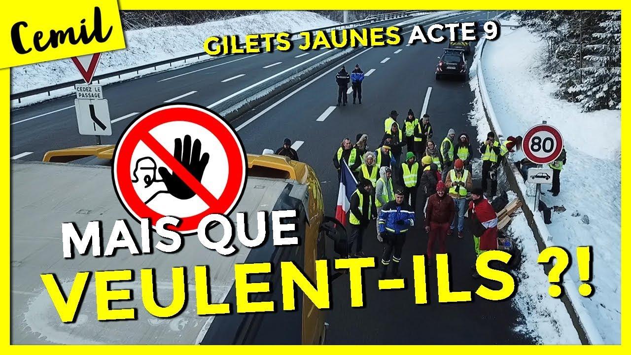 PAROLES DE GILETS JAUNES - ACTE 9 (Chamonix, Annecy)