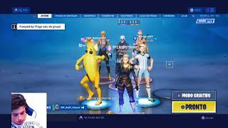 #BOT #Rumo270inscritos Fortnite EN/BR [PS4] Trios arenas! SHUTDOWN in store!!