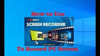 How to Use ZD Soft Screen Recorder to Record PC Screen screenshot 5