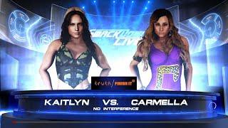 WWE 2K18 - Kaitlyn VS Carmella