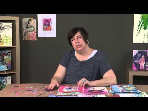 Artists Network Interviews: Dina Wakley Talks About Art and Art Journaling