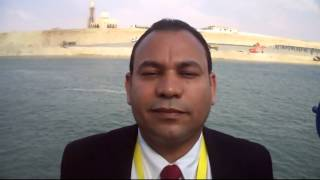 Jawad Abu Cobb, the opening of the Suez Canal from the finest opening of the first channel