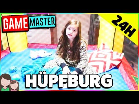 GAME MASTER AUFGABE: Bleibe 24h lang auf der Hüpfburg 😈 Alles Ava