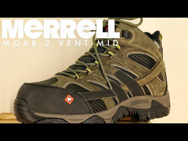 """MERRELL Moab 2 8/"""" Waterproof Tactiques Militaires de Combat Bottes pour Hommes"""