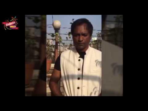 Bollywood actor Prashant Narayanan supporting Diabetes Mela