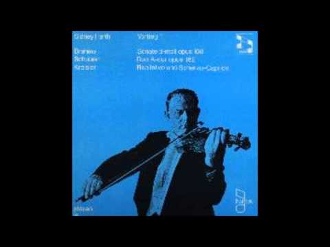 Brahms, Violin Sonata Op 108 , Sidney Harth