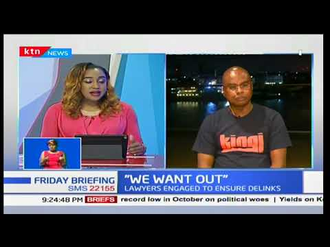 Amason Kingi:I think as a people we have resolved to walk this path of secession