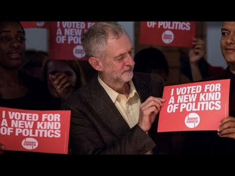 The MOMENTUM Behind Jeremy Corbyn