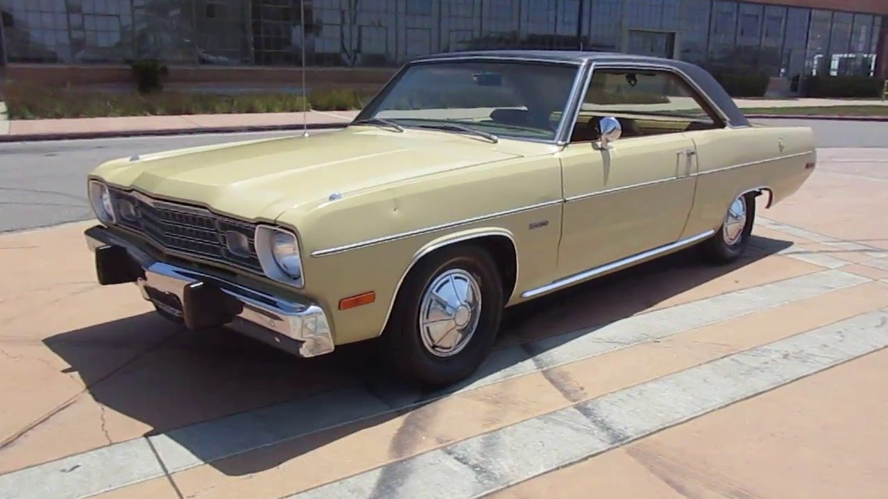 1973 Tan Plymouth Scamp Walkaround Youtube
