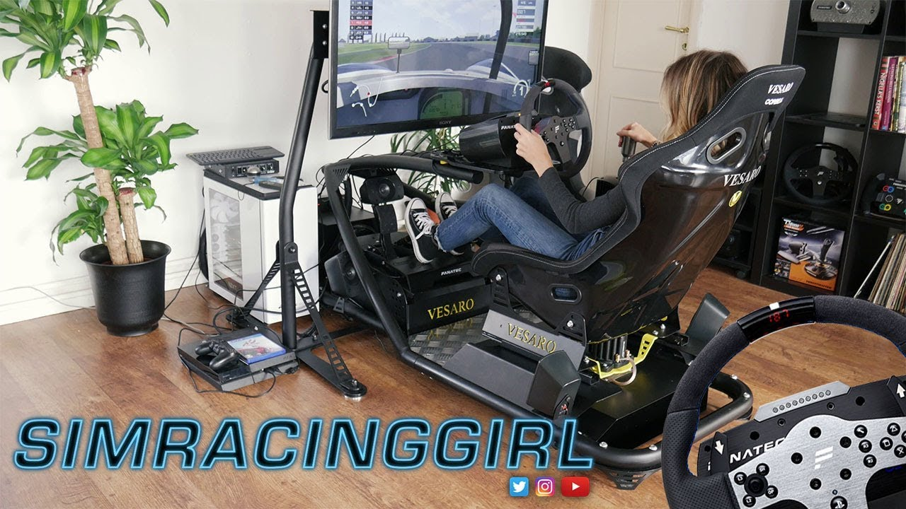 fanatec csl elite wheel for the ps4 by simracinggirl youtube. Black Bedroom Furniture Sets. Home Design Ideas
