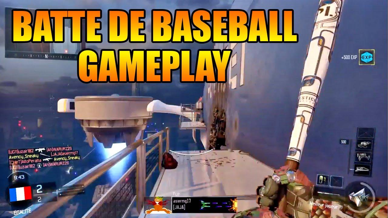 bo3 gameplay la batte de baseball nouvelle arme cod maj youtube. Black Bedroom Furniture Sets. Home Design Ideas