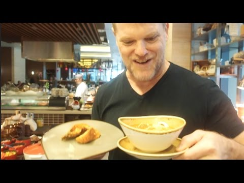 Out Of The Kitchen!  Feasting at a Singapore Buffet - Greg's Kitchen