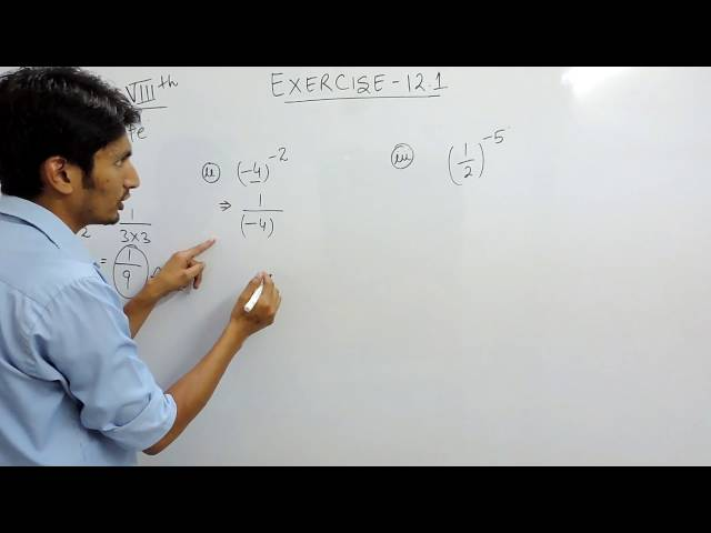 Chapter 12 Exponents and Powers class 8th maths - Ex 12.1 Q 1 Ncert solutions class 8 Mathematics