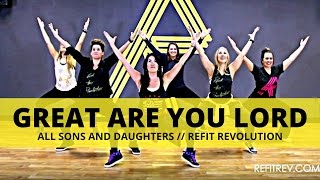 """Great Are You Lord"" 