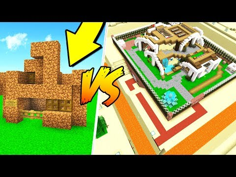 WORST MINECRAFT HOUSE VS. WORLD S SAFEST HOUSE!