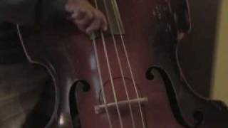 1950 s kay upright bass strung w all gut strings bass solo unplugged