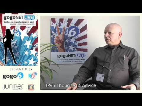 Interview with Joe Klein at gogoNET LIVE! IPv6 Event