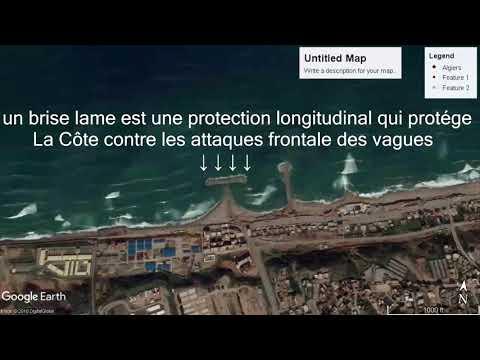 Brise Lame Algeria Coastal Engineering Geociences Marines