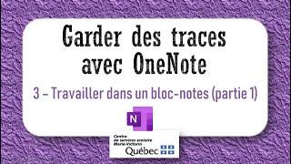 3- Travailler dans un bloc-notes (partie1)