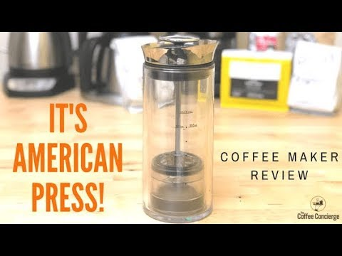 It's American Press! Coffee Maker Review