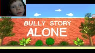 Reaction to roblox bully story - (alone) along with marshmallow the song  & marshmallow (bully stry)