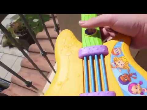 Bubble Guppies Toy Guitar Destruction