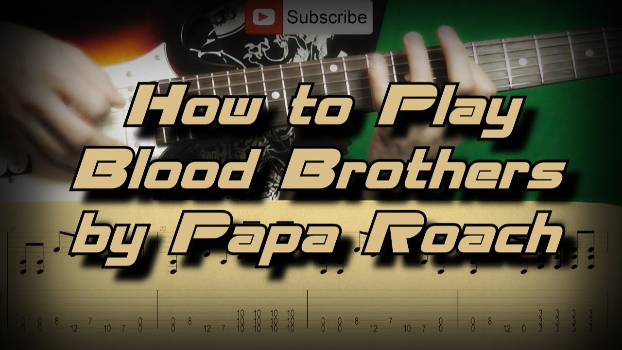 Papa Roach Blood Brothers Lyrics - YouTube