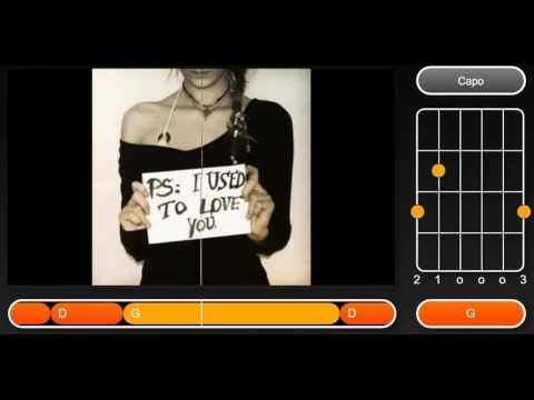 Lag Ja Gale Ke Phir Guitar Chords Youtube
