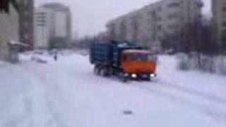 Русский танк,Камаз мусоровоз